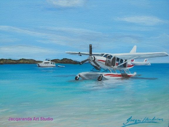 Seaplane Whitsundays